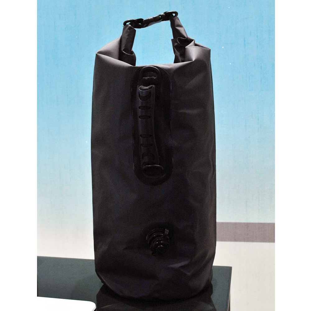 925e65ed13 ... Inflated Outdoor Drifting Waterproof Bucket Dry Bag 20 Liter - Black - 1  ...