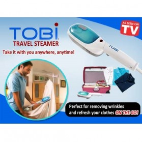 Tobi Steam Brush & Iron Garment Streamer / Setrika Uap - White - 3