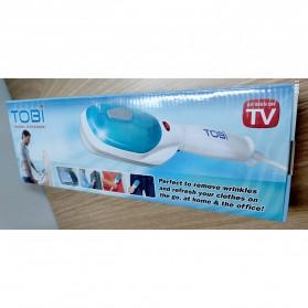 Tobi Steam Brush & Iron Garment Travel Streamer Setrika Uap - RH191 - White - 6