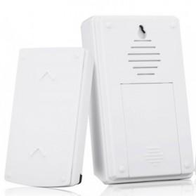 Taffware Bell Pintu Digital Wireless Doorbell 36 Tunes 1 PCS Receiver - FK-D010 - Black - 4