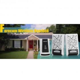 Taffware Bell Pintu Digital Wireless Doorbell 36 Tunes 1 PCS Receiver - FK-D010 - Black - 6