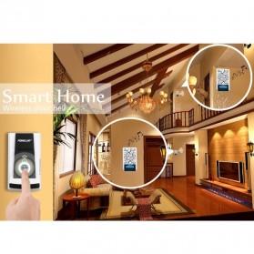Taffware Bell Pintu Digital Wireless Doorbell 36 Tunes 1 PCS Receiver - FK-D010 - Black - 8