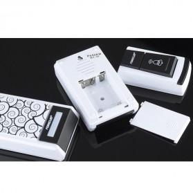 Taffware Bell Pintu Digital Wireless Doorbell 36 Tunes 1 PCS Receiver - FK-D010 - Black - 9