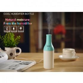 Magic Bottle USB Aromatherapy Humidifier with Night Light - White/Pink - 5