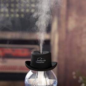 Taffware Cowboy Cap USB Aromatherapy Humidifier - HUMI H689 - Black - 4