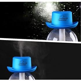 Taffware Cowboy Cap USB Aromatherapy Humidifier - HUMI H689 - Black - 5