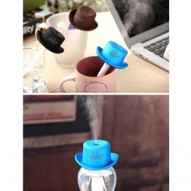 Taffware Cowboy Cap USB Aromatherapy Humidifier - HUMI H689 - Black - 10