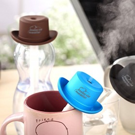 Taffware Cowboy Cap USB Aromatherapy Humidifier - HUMI H689 - Black - 11