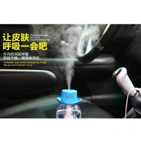 Taffware Cowboy Cap USB Aromatherapy Humidifier - HUMI H689 - Black - 13