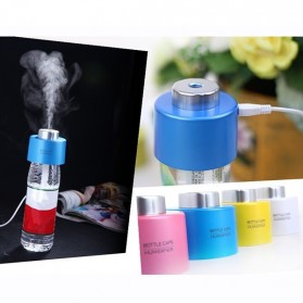 Taffware Bottle Cap USB Aromatherapy Humidifier - HUMI H687 - Blue
