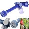 Selang & Kepala Semprotan Taman - Ez Jet Water Cannon 8 In 1 Water Spray Penyemprot Air - Blue