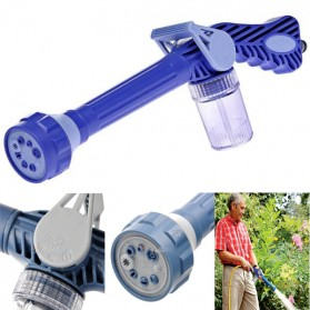 Selang & Kepala Semprotan Taman - Ez Jet Water Cannon 8 In 1 Water Spray Penyemprot Air - H01043 - Blue