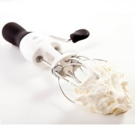 OXO Good Grips Egg Beater / Mixer Adonan - White/Black - 6