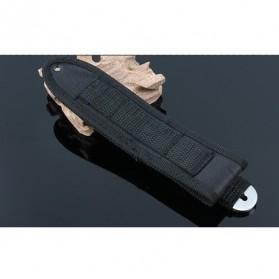 KNIFEZER Haller Pisau Legging Diving Knife Survival Tool - HL002 - Black - 6