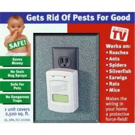 Pest Offense Electronic Indoor Pest Control / Pengusir Hama - White - 5