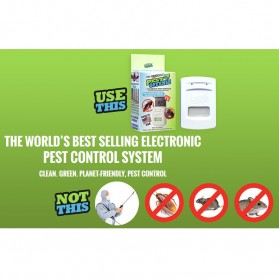 Pest Offense Electronic Indoor Pest Control / Pengusir Hama - White - 6