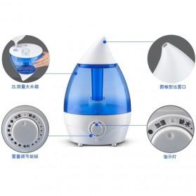 Taffware Classic Drop 6 in 1 Ultrasonic Air Humidifier Aromatherapy Oil Diffuser 3L - HUMI H98 - Blue - 6