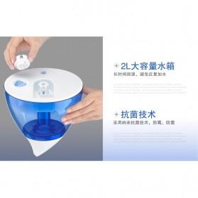 Taffware Classic Drop 6 in 1 Ultrasonic Air Humidifier Aromatherapy Oil Diffuser 3L - HUMI H98 - Blue - 8
