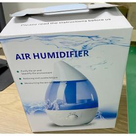 Taffware Classic Drop 6 in 1 Ultrasonic Air Humidifier Aromatherapy Oil Diffuser 3L - HUMI H98 - Blue - 11