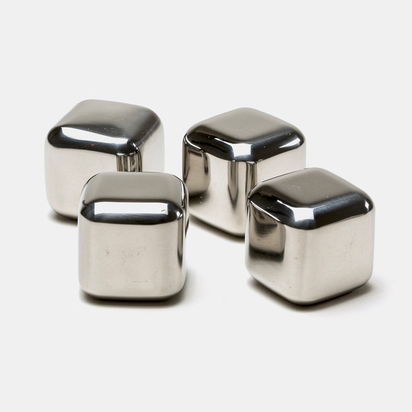 ... Reusable Stainless Steel Ice Cube 4 PCS / Es Batu Stainless - W00043 - 3 ...