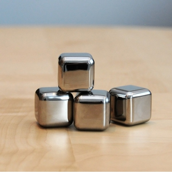 ... Reusable Stainless Steel Ice Cube 4 PCS / Es Batu Stainless - 5 ...