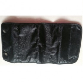 Klsyanyo Universal Multifunction Cosmetic Bag Roll n Go - BG-WABB504 - Black - 5