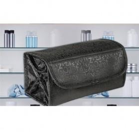 Klsyanyo Universal Multifunction Cosmetic Bag Roll n Go - BG-WABB504 - Black - 6