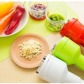 MYVIT Penumbuk Pemotong Bawang Kitchen Onion Chopper Hand Pressure - OA0090 - White - 2
