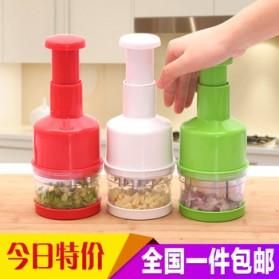 MYVIT Penumbuk Pemotong Bawang Kitchen Onion Chopper Hand Pressure - OA0090 - White - 7