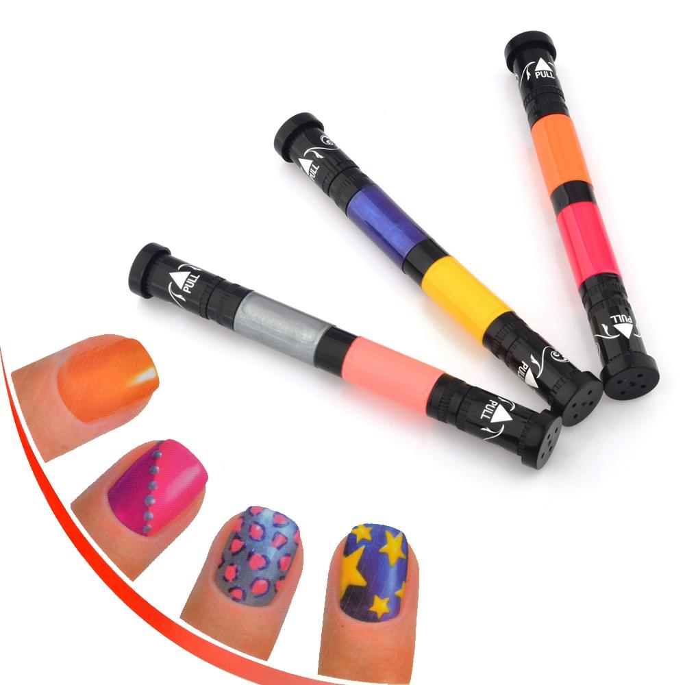 Makeup Kosmetik Harga Murah Sepatu Olahraga Lari Lokal  Fans Siera N 6 Color Nail Arts Pen Hot Glitz And Glam Perias