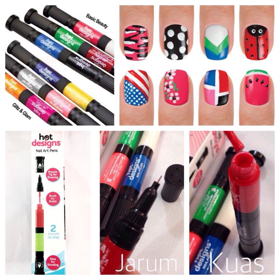 Hot design nail art pens image collections nail art and nail 6 color starter kit hot design nail art basic kit hot designs hot design nail art prinsesfo Image collections