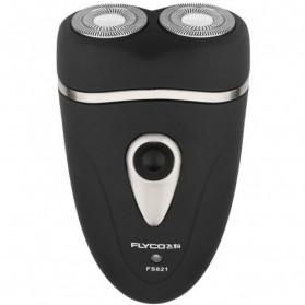 Flyco Speed-XL Dual Electric Shaver / Pisau Cukur Elektrik - FS821 - Black/Silver