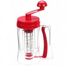 Manual Pancake Machine / Alat Pengaduk Adonan Kue - Red