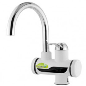 Shuzhiyuan Tankless Electric Faucet Water Heater / Keran Pemanas Air - White