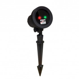 Night Stars Landscape Lighting Dual Lamp with Remote / Lampu Taman - Black - 2