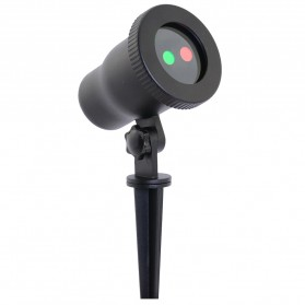 Night Stars Landscape Lighting Dual Lamp with Remote / Lampu Taman - Black - 3