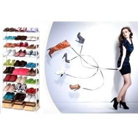 Amazing Shoes Rack / Rak Sepatu atau Sandal - White - 2