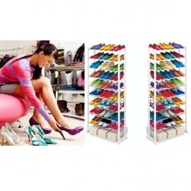 Amazing Shoes Rack / Rak Sepatu atau Sandal - White - 3