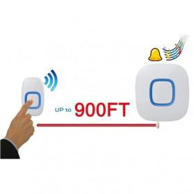 FORRINX FX-CF Bell Pintu Wireless Waterproof 2 PCS Transmitter (Two Drive One) - White - 4
