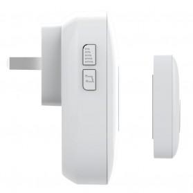 FORRINX FX-CF Bell Pintu Wireless Waterproof 2 PCS Transmitter (Two Drive One) - White - 5