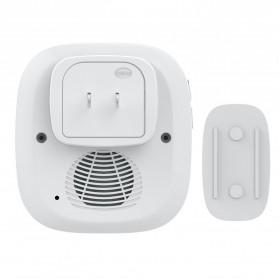 FORRINX FX-CF Bell Pintu Wireless Waterproof 2 PCS Transmitter (Two Drive One) - White - 6