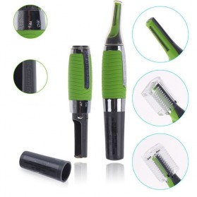 Micro Touch Magic Max Hair Groomer / Pisau Cukur - Green - 2