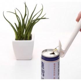 Creative Bottle Soda Can Opener / Pembuka Botol Kaleng - White - 2
