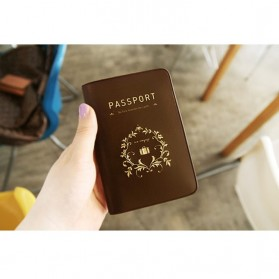 iConic Cover Passport - Brown - 3