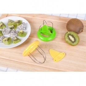 Funny Kitchen Kiwi Special Splitter / Pemotong Kiwi - Yellow - 2