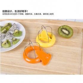Funny Kitchen Kiwi Special Splitter / Pemotong Kiwi - Yellow - 4