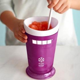 ZOKU Ice Cream Smoothie Milkshake Maker Cup / Gelas Pembuat Es - Purple
