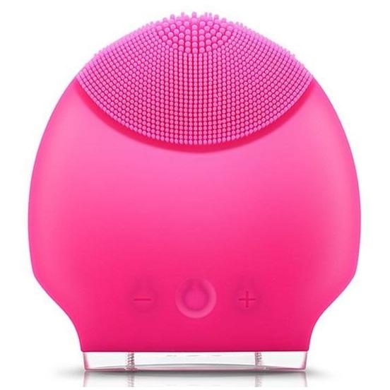 ... Skin Care Electric Facial Anti Aging Cleaning Brush / Pembersih Muka Elektrik - Pink - 1 ...