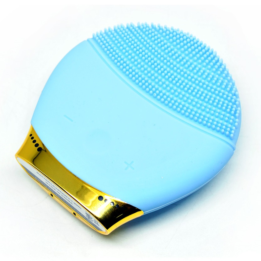 ... Skin Care Electric Facial Anti Aging Cleaning Brush / Pembersih Muka Elektrik - Blue - 1 ...