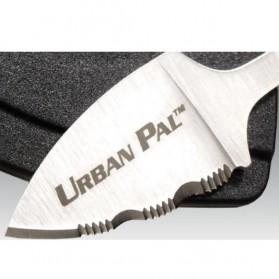 Urban Pal Pisau Mini Cutter Letter Opener Self Defense Portable Knife Survival Tool Cold Steel - 43LS - Silver - 4